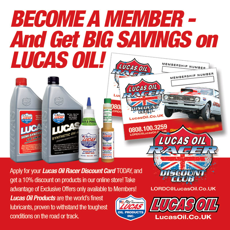 Email Lucas Oil by clicking here .......